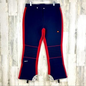 Italian Vintage 70s 80s Ellesse Ski Pants Size 32